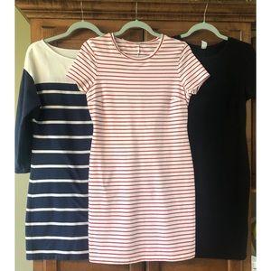 *Bundle* 3 old navy cotton dresses size medium